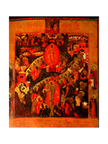 The Descent Into Hell, With Selected Saints Giclee Print