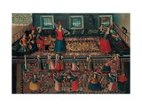 A Scene From the Turkish Harem Giclee Print by Franz Georg Hormann