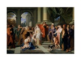 Susannah Accused of Adultery Giclee Print by Antoine Coypel