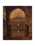 Interior of the Temple in Jerusalem Giclee Print by Maxim Nikiphorovich Vorobyev