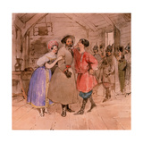 Scene From the Opera 'A Life for the Tsar (Ivan Susanin)' Giclee Print