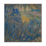 Bathers Giclee Print by Pyotr Ivanovich Subbotin