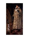 Tsar Ivan IV the Terrible Giclee Print by Viktor Mikhaylovich Vasnetsov