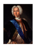 Portrait of the Tsar Peter II of Russia (1715-1730) Giclee Print by Johann-Heinrich Wedekind