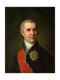 Portrait of Alexei Cyprian Rokosowski Giclee Print by Vladimir Lukich Borovikovsky