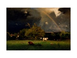 Rainbow Giclee Print by George Inness
