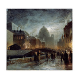 Illumination in Saint Petersburg Giclee Print by Fyodor Alexandrovich Vasilyev