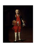 Portrait of Count Wilhelm Georg Von Fermor (1749-1828) Giclée-Druck von Ivan Yakovlevich Vishnyakov