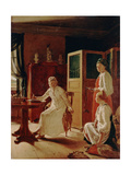 Morning of the Lady of the Manor Giclee Print by Alexei Gavrilovich Venetsianov
