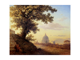The Torquato Tasso's Oak in Rome Giclee Print by Maxim Nikiphorovich Vorobyev