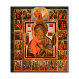 The Feodorovskaya Mother of God With the Wonders Giclee Print