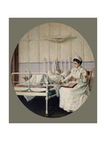 The Letter Has Been Interrupted Giclee Print by Vasili Vasilyevich Vereshchagin