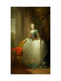 Grand Duchess Elena Pavlovna of Russia (1784-1803) Giclee Print by Vladimir Lukich Borovikovsky