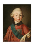 Portrait of Grand Duke Pavel Petrovich (1754-1801) Giclee Print by Alexei Petrovich Antropov
