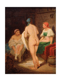 In Steam Bath Giclee Print by Alexei Gavrilovich Venetsianov