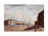The Great Gostiny Dvor (Merchant Yard) in St Petersburg Giclee Print by Yermolai Ivanovich Yesakov