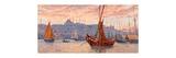 The Golden Horn Giclee Print by Tristram James Ellis