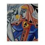 Queen of Spades Giclee Print by Olga Vladimirovna Rozanova
