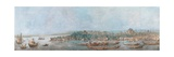 Panorama of Sarayburnu Giclee Print by Louis-Francois Cassas