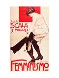 Femminismo (Poster) Giclee Print