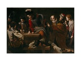 The Denial of Saint Peter Giclee Print by Nicolas Tournier