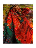 Peasant Women Giclee Print by Filipp Andreyevich Malyavin