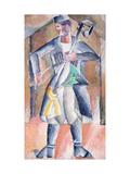 Sas-musician Giclee Print by Mikhail Vasilyevich Le Dantyu