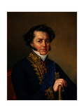 Portrait of Avraam Norov (1795-1869) Giclee Print by Jan Ksawery Kaniewski