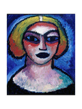 Head of a Woman Giclee Print by Alexei VonJavlensky