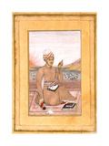 A Scribe on a Terrace Giclee Print by Muhammad Riza-i Hindi