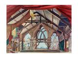 Stage Design for the Opera Snow Maiden by N. Rimsky-Korsakov Giclee Print by Karl Fyodorovich Valz