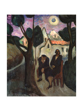 The Solar Eclipse Giclee Print by Marianne Von Verefkin