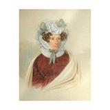 Portrait of Yelizaveta Markovna Poltoratskaya (1768-1838) Giclee Print