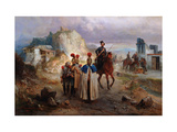 The Captive French Men in 1814 Giclee Print by Gottfried Willewalde