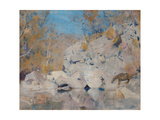 In a Corner on the Macintyre Giclee Print by Tom Roberts