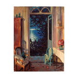 Southern Night Giclee Print by Sergei Arsenyevich Vinogradov