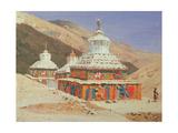 Chorten in Ladakh Giclee Print by Vasili Vasilyevich Vereshchagin