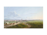 View of Vienna From the Spinner on the Cross Giclee Print by Jakob Alt