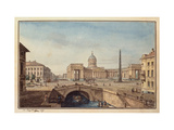 The Kazan Cathedral in Saint Petersburg Giclee Print by Maxim Nikiphorovich Vorobyev