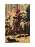A Horseman in Samarkand Giclee Print by Vasili Vasilyevich Vereshchagin
