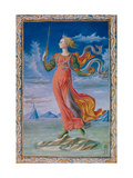 Allegory of Rome. Illustration for the Manuscript De Secundo Bello Punico Poema Giclee Print