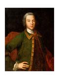 Portrait of Count Petr Panin (1721Ð1789) Giclee Print by Ivan Yakovlevich Vishnyakov