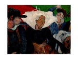 Going to Market, Brittany Giclee Print by Charles Laval