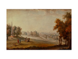 View of the Park in Tsarskoye Selo Giclee Print by Johann Georg Von Mayr