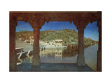 Rajasthan. At the Lake in Udaipur Giclee Print by Vasili Vasilyevich Vereshchagin