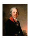Portrait of Alexander Dmitriyevich Arsenyev Giclee Print by Vladimir Lukich Borovikovsky