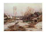 Spring Near St. Petersburg Giclee Print by Ivan Avgustovich Velz