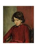 Portrait of Praskovia Anatolievna Mamontova Giclee Print by Valentin Alexandrovich Serov