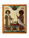 Tikhon, Patriarch of Moscow And Martyr Nicholas II Giclee Print