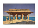 Evening At the Lake (Jaipur District of Rajasthan State, India) Giclee Print